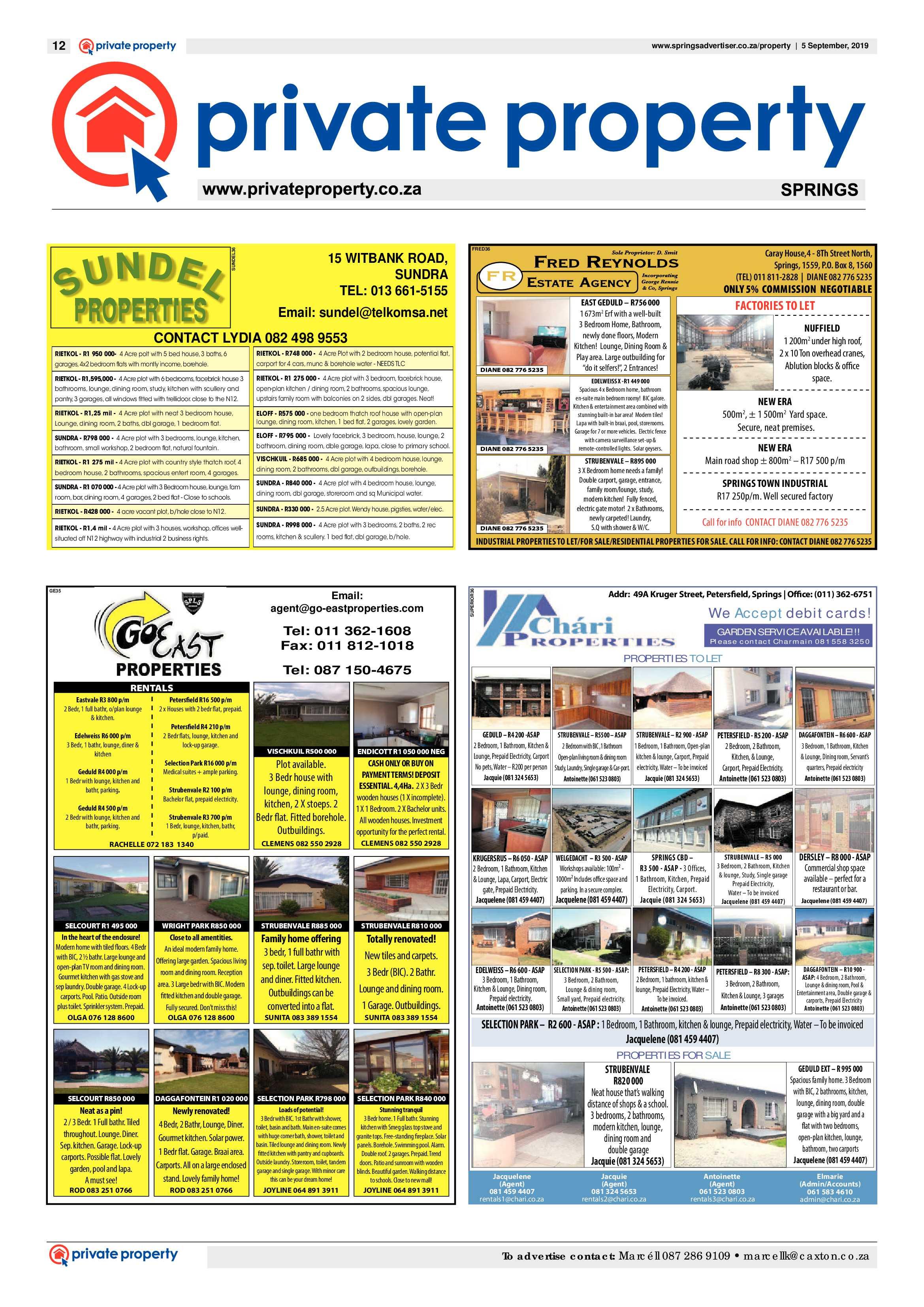 Springs Advertiser 05 September 2019 | Springs Advertiser