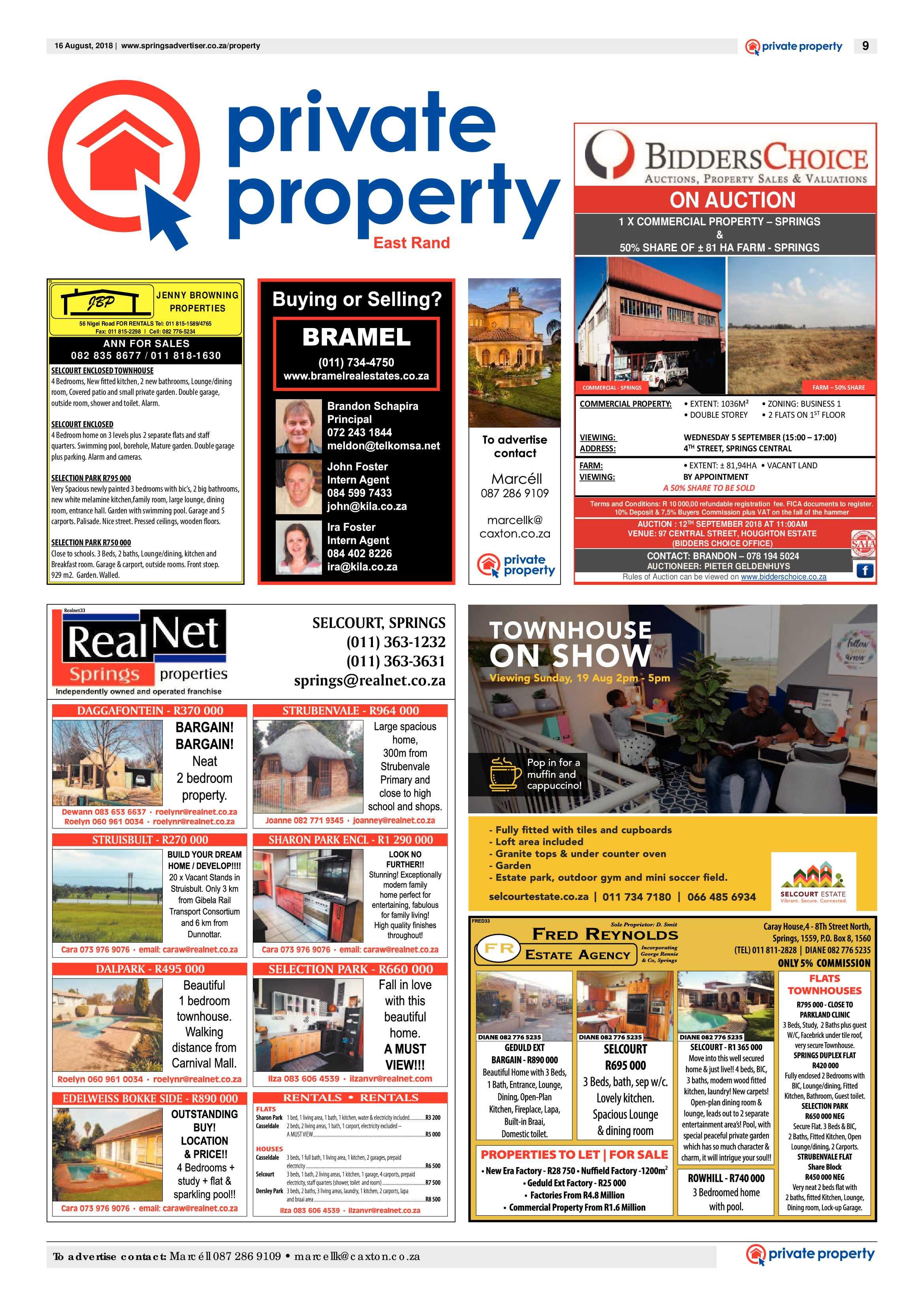 Springs Advertiser 16 August 2018 | Springs Advertiser
