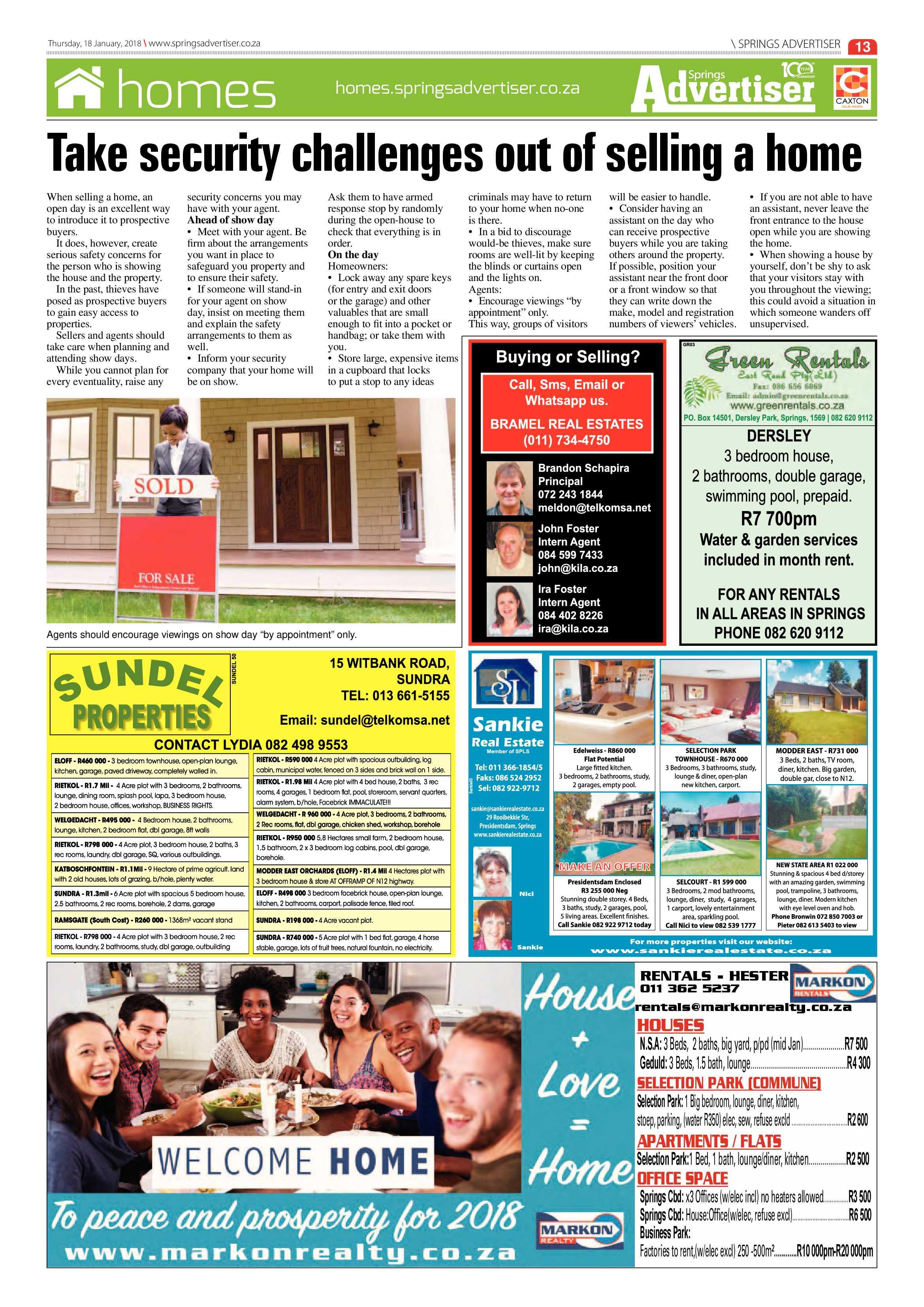 Springs Advertiser 18 January 2018 | Springs Advertiser