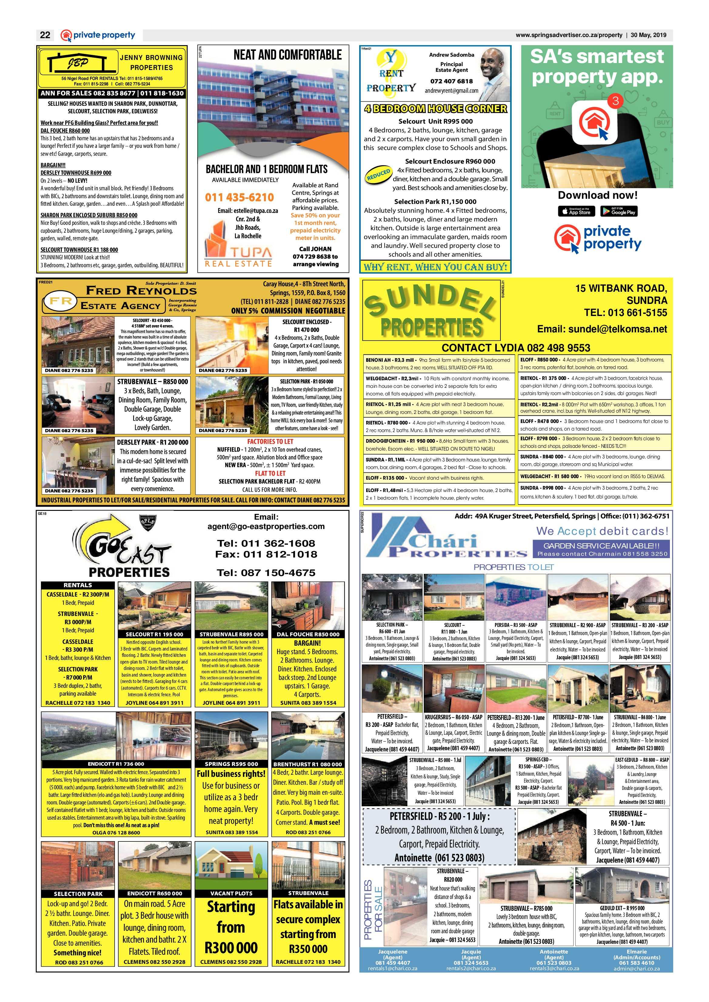 Springs Advertiser 30 May 2019 | Springs Advertiser